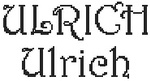 Dictons de la St Ulrich + grille prénom   !