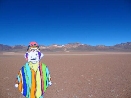 Clément en Bolivie.