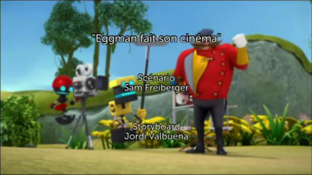 eggman fait son cinéma