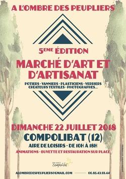 Marchés artisanaux en Juillet et Août :