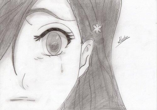 Orihime Inoue (Bleach) ~ by ¤ Elodie - Manga O Ekaki ¤