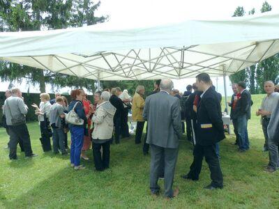 30 mai 2014 - Inauguration Halle de Boulaines et barbecue.