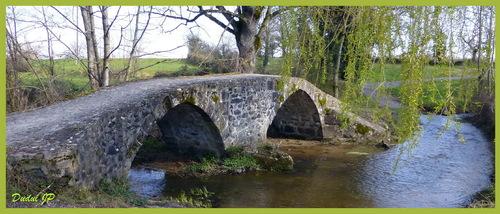 Le pont de Courtioux dit : Pont romain