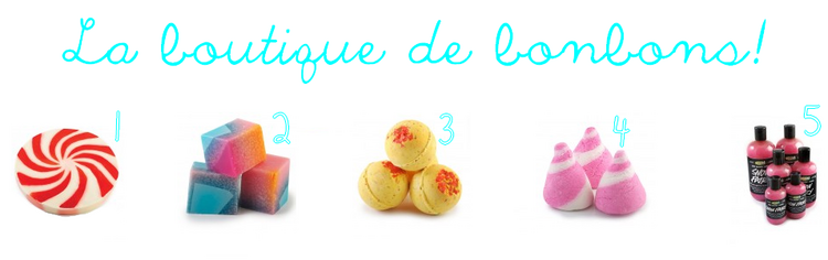 ღ Christas by Lush | La boutique de bonbons!