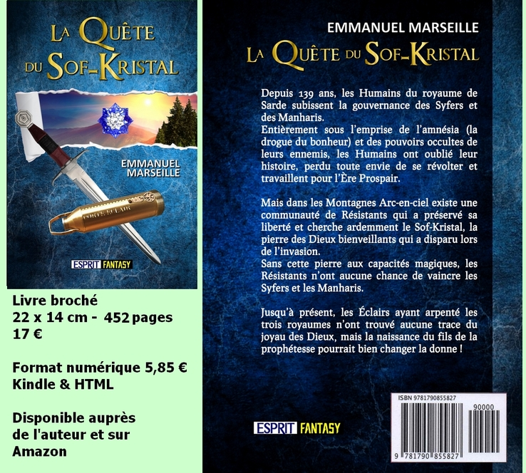 Roman La Quête du Sof-Kristal