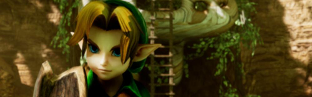 Remake de Zelda Occarina of time sous unreal engine !