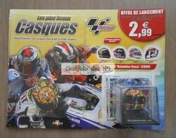 N° 1 Les plus beaux casques Moto GP - Test