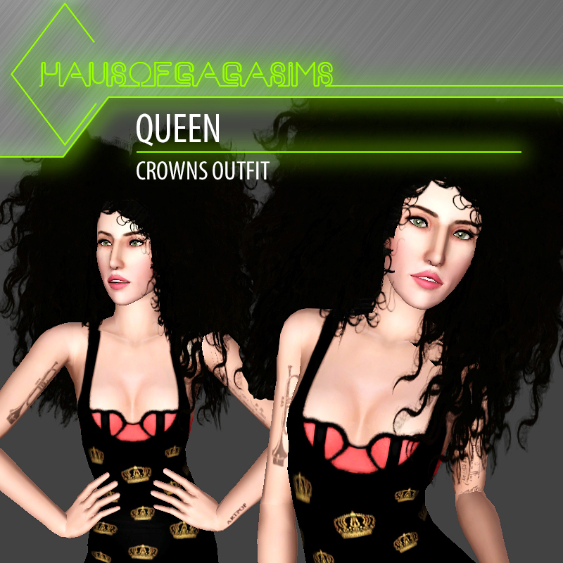 QUEEN CROWNS OUTFIT