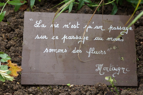 Le Jardin Zen et gourmand d'Eliane et Alain