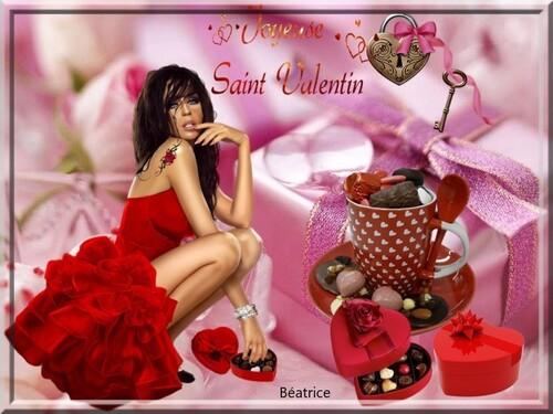 bonne St Valentin à tous et toutes