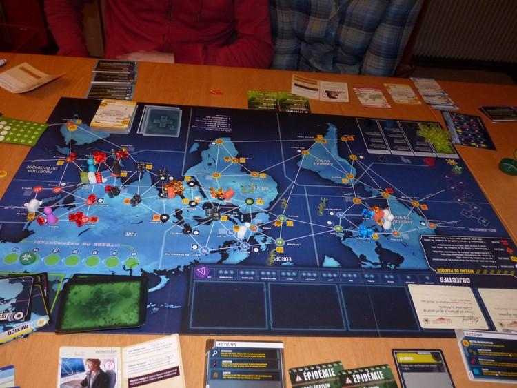 Pandémie Legacy (fin décembre)