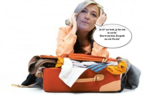 Le voyage cauchemar au Canada de Marine Le Pen