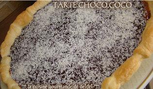 TARTE CHOCO,COCO