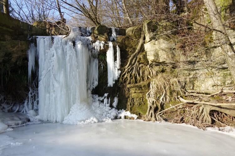 petite cascade de l'Étanche (ou Saut du Brénon)