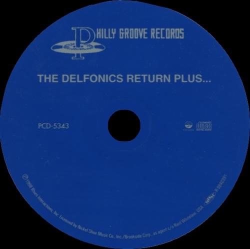"""The Delfonics : Album """" The Delfonics Return """" Poogie Records P121680 [ US ]"""