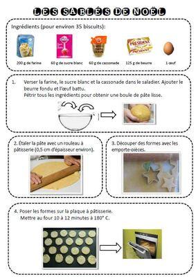 Recettes de cuisine illustrées - CP