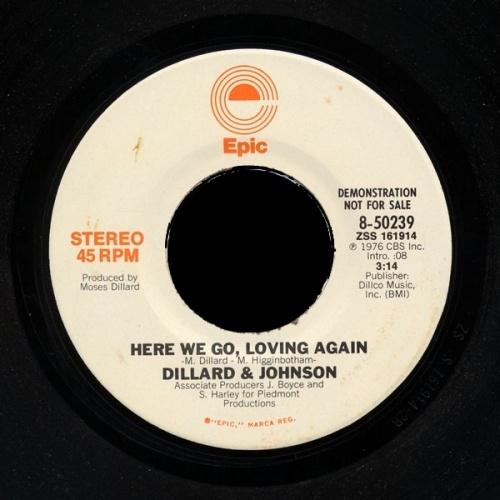 1976 : Singles SP Epic Records 8 50239 / 8 50239 Promo [ US ]