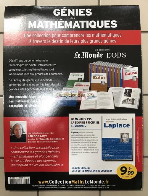N°1 Génies des mathématiques - Lancement