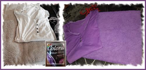 les sphères Coloria violet precieux