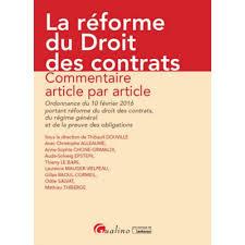 """Résultat de recherche d'images pour """"ordonnance droit des contrats réforme"""""""