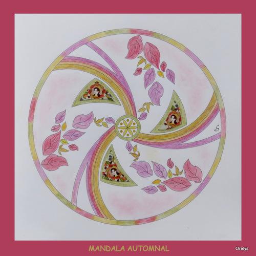 Mandala de l'automne