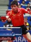 Zhang Jike par Rémy Gros ITTF