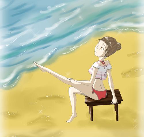Dessin de vacance ! ^^
