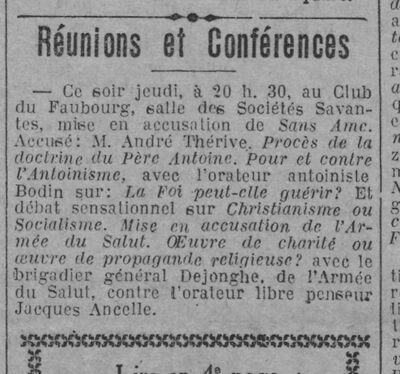 Paris-soir, 17 mai 1929