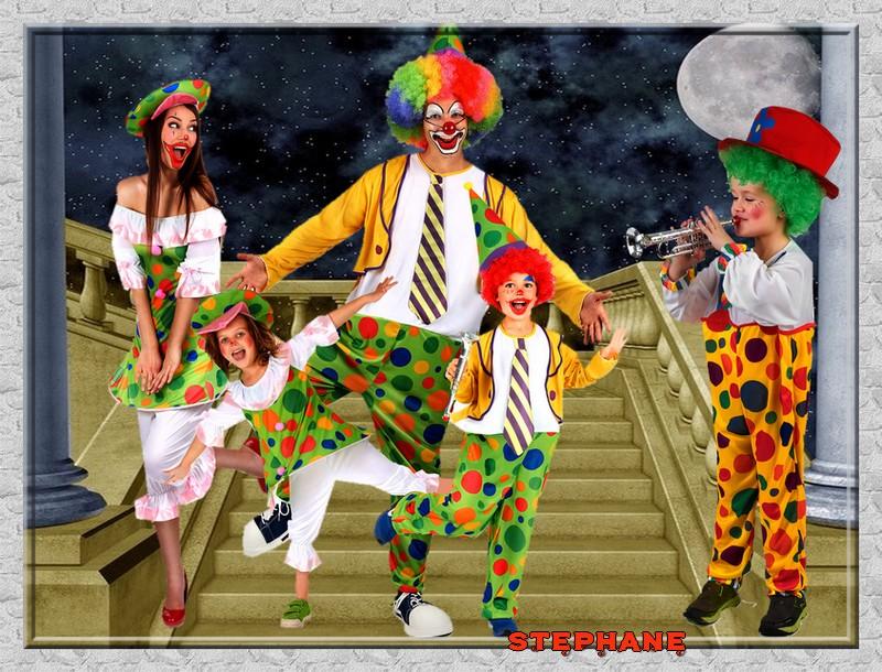 Les  clowns en folie défi pour Maman Manik !