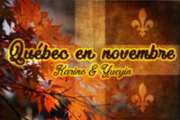 Québec en novembre