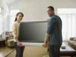 Installation et réglage d'une télévision