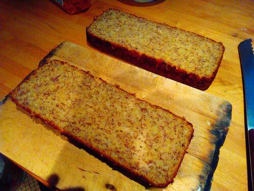 Cake Banane/Pâte à tartiner {Vegan}