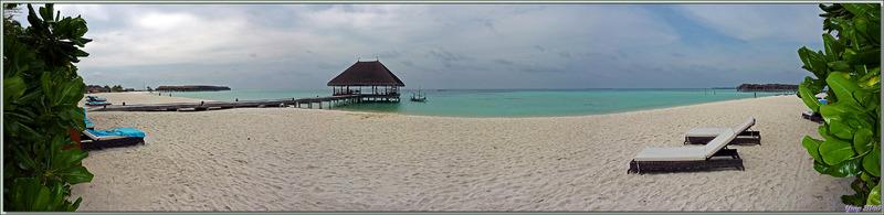 9 décembre 2018 : Dernier coup d'oeil sur notre plage ... - Moofushi - Atoll d'Ari - Maldives