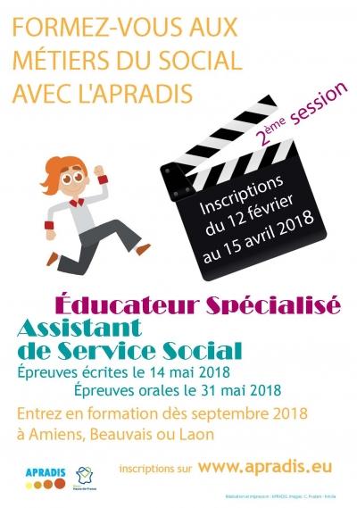 """Deuxième session de sélection """"Assistant de Service Social"""" et """"Educateur Spécialisé"""""""