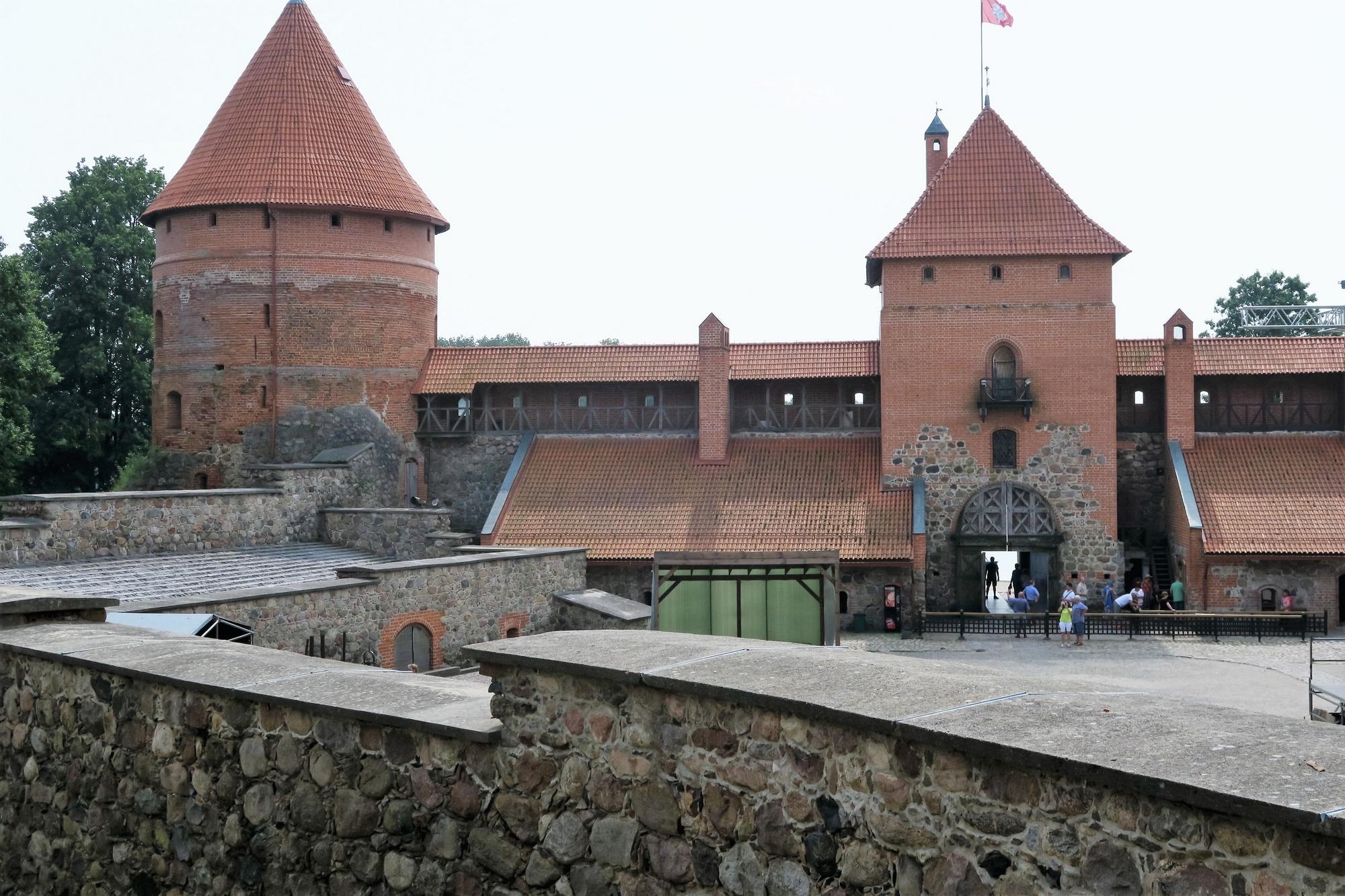 Le château de TRAKAÏ (Lituanie)
