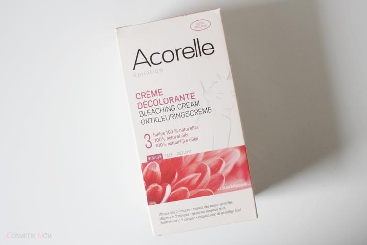 Acorelle Crème Décolorante Visage