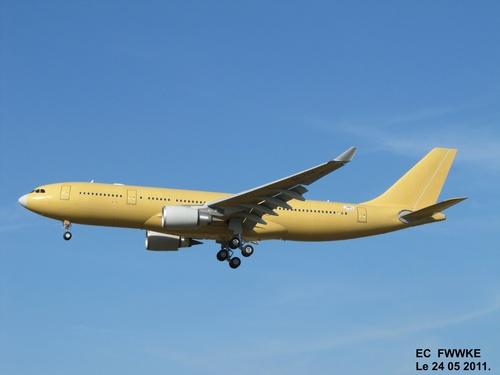 Airbus A 330 F WWKE Le 24 05 2011 à 18h06.