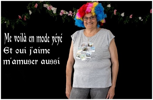 me voici en mode clown