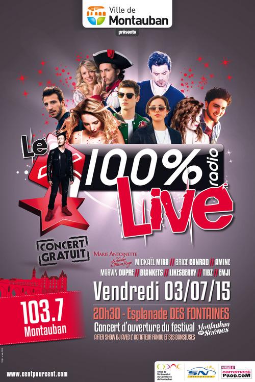 100% Radio Live Montauban