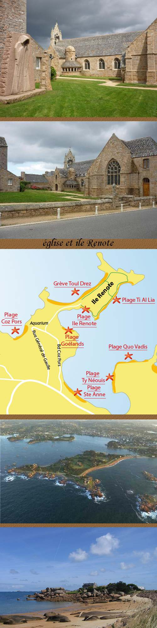 Circuit Touristique : De Tréguier à la Côte d'Argent