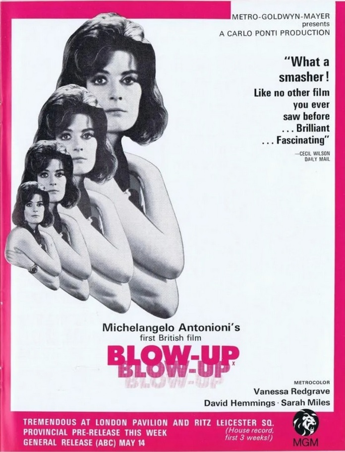 BLOW UP BOX OFFICE USA 1967