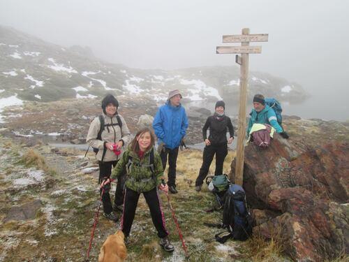 randonnée  dans les Pyrénées Ariégeoises