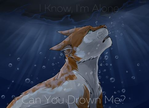 drown by byStarCat   Warrior drawing, Warrior cat drawings, Warrior cats