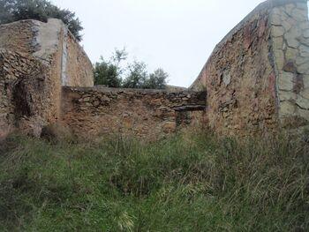 Les ruines du relais de poste du Caday