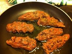 Curry de Kefta.(boulettes de viande)