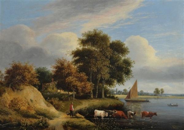 Peinture de : Samuel David Colkett