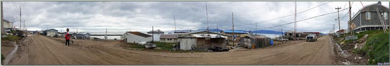 Panoramas sur ce village vraiment désespérant ! - Pond Inlet - Baffin Island - Nunavut - Canada