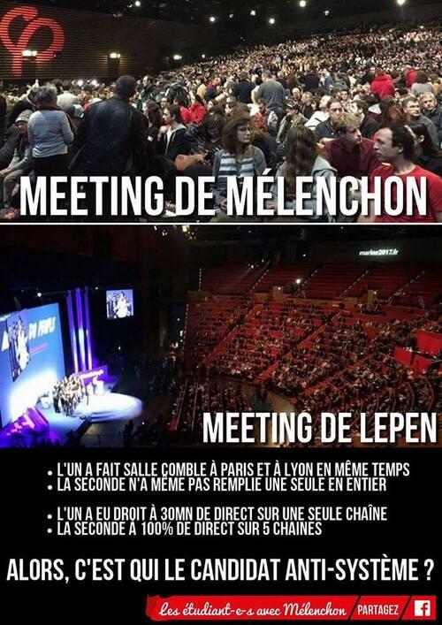 Mélenchon versus Le Pen