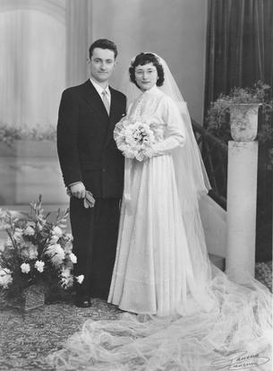 Mes grand-parents maternels : Michel et Monique Brisset