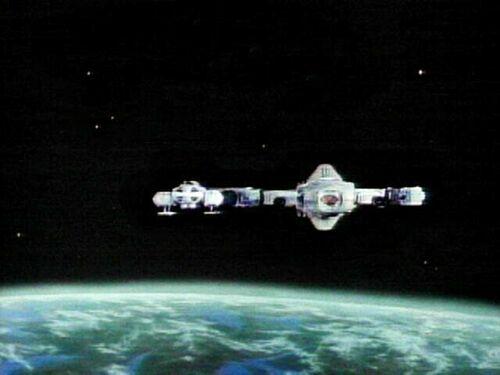 En orbite au-dessus de la Terre